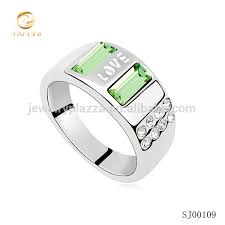 ring models for wedding 925 sterling silver jewelry new model wedding ring fashion peridot