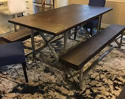Kitchen Table Desk by Reclaimed Wood Dining Table Etsy