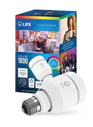 What Is A Led Light Bulb by Lifx Smart Led Light Bulb Wi Fi Color 1000 A19 Multicolor