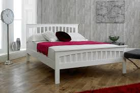 White Frame Bed Wooden King Size Bed Frame Style Awesome Wooden King Size Bed