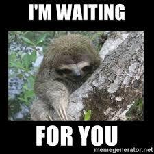 Sloth Meme Maker - i m waiting for you creepy sloth meme generator