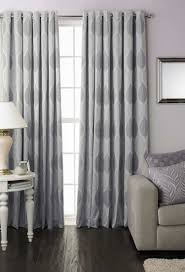 Eyelet Curtains Dalby Silver Ready Made Eyelet Curtains With Full Lining