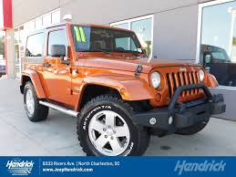 orange jeep wrangler used jeep wrangler under 20 000 in south carolina for sale