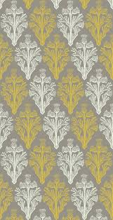 yellow and gray wallpaper
