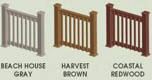 Decking Banister 4 Steps To A Better Deck Composite Deck Railing Kit Choicedek