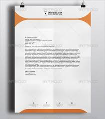 professional letterhead templates free download best template