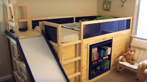 Ikea Hacks Platform Bed Coolest Dad Ever Builds Amazing Ikea Hack Bed What U0027s Trending