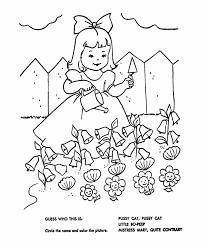 preschool coloring pages nursery rhymes nursery rhymes quiz coloring page hand embroidery children s