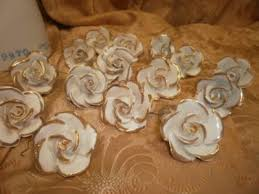italian porcelain roses italian porcelain roses for capodimonte chandelier prism drops