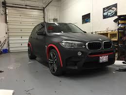 Bmw X5 Red - wrapking premium car wrap car foil canada chrome car