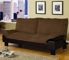 brown microfiber sofa bed microfiber sofa bed by coaster 300179