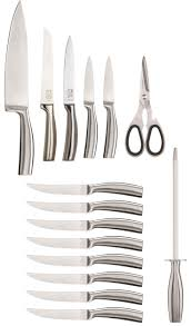 amazon com chicago cutlery elston 16pc block set kitchen u0026 dining