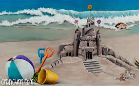 Murals For Childrens Bedrooms Murals For Kids U0027 Bedroom Beach Theme Cindy Chinn