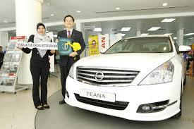 edaran tan chong motor launches normizah binti omar wins a nissan teana from etcm wemotor com