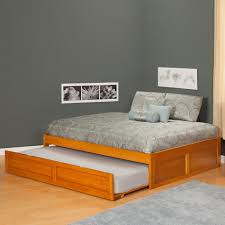 Teak Wood Modern Bed Designs Home Design Unstained Teak Wood Low Profile Bed Frame With White