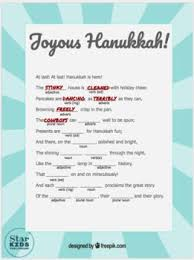 hanukkah mad libs hanukkah mad libs collection slides and printables