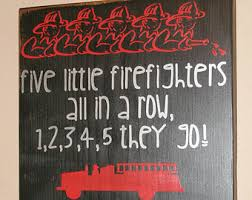 Firefighter Home Decorations Firefighter Sign Firefighter Decor Nurse Sign Distressed