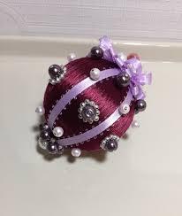 handmade vintage silk beaded pearl ornaments silk