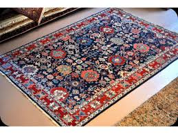 Old Persian Rug by Handmade Fine Quality Royal Blue Persian Rug Vegetable Dyed