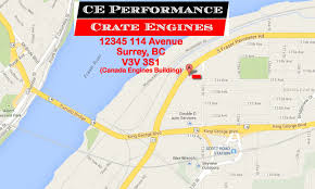 Map Performance Ce Performance Map The Crate Engine Shop For Chevrolet Gm