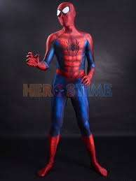 halloween spiderman costume newest classic spider man costume 3d printing superhero costume