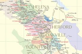 Sonoma California Map Napa Valley Winery Map Plan Your Visit To Our Wineries
