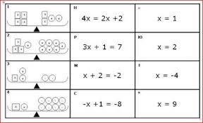 balance equations card match model equation solution algebra