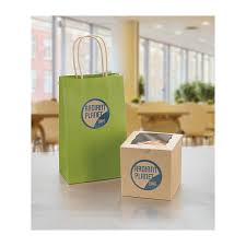 Brown Bags With Clear Window Amazon Com Avery Permanent Print To The Edge Round Labels Laser