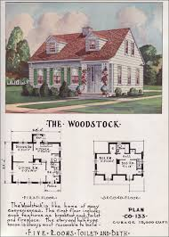 house plans from the 1950s home deco plans