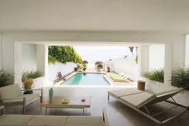 Modern Pool Furniture by Modern Patio Design Ideas Patio Modern With Garden Wall Patio
