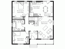house plan drawings eplans bungalow house plan cottage comfort 1113 square