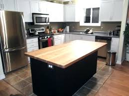 wood tops for kitchen islands wood island tops kitchens reclaimed hickory island with wood top