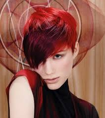 hairstyles red hair color for black women red hair color