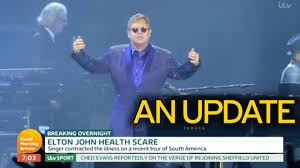 sir elton john u0027s brush with death after contracting rare infection