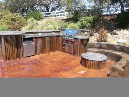 rustic outdoor kitchen ideas outdoor kitchens and firepits rustic san luis obispo by bravo