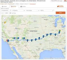 Map A Route by Simple Trick To Find Hotels Along A Route Points With A Crew