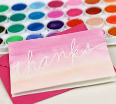 where to buy thank you cards diy thank you cards to get ahead of the gifting