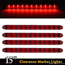 Best Light Bars For Trucks Red 15 11 Led Light Bar Stop Turn Tail 3rd Brake Light Truck