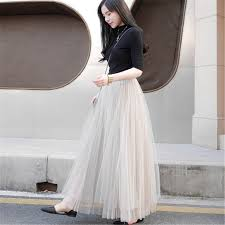 White Tulle Maxi Skirt Online Get Cheap Tutu Tul Aliexpress Com Alibaba Group