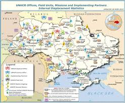 Map Of Ukraine And Crimea Ukraine U0027s Refugees