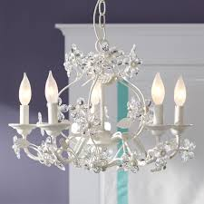 Candle Chandelier Pottery Barn Blossom Chandelier Pbteen