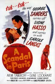 a scandal in paris 1946 motion picture anyone 1946