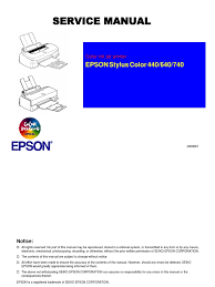 epson stylus color 440 640 740 service manual usb typefaces