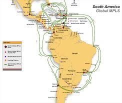 map of mexico south america network maps america telecom ramblings