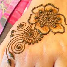 simple henna mehndi design for beginners by ideas