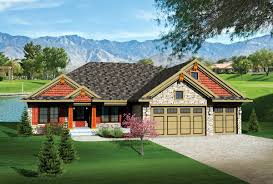 Craftsman Ranch Floor Plans House Plan 73135 At Familyhomeplans Com