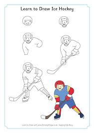 i would do like to learn how to draw a perfect hockey player