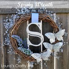 Wedding Wreaths Spring Wedding Wreath Laura U0027s Crafty Life