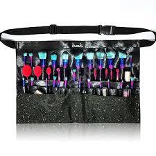 makeup artist belt makeup artist brush tool belt dusty black mk06 kassaki