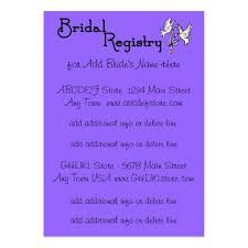 bridal registry cards registry business card templates page2 bizcardstudio